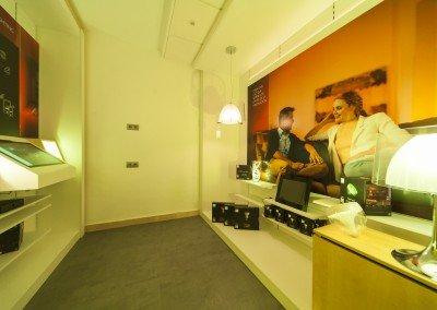 Interior tienda HUE