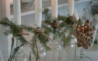 Cinco sencillas formas de decorar tu casa esta navidad.