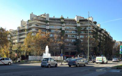 Viviendas militares en Madrid.