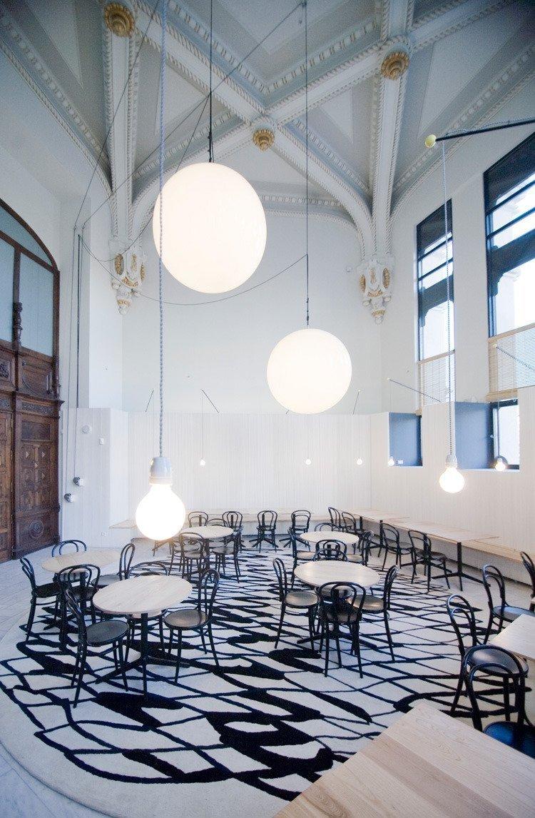 ¿Un café…? En el Palacio de Cibeles.